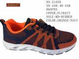 Les couleurs de la Marine Flyknit Orange hommes chaussures