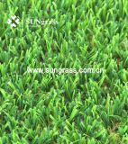 Résistance aux UV durables de gazon artificiel Gazon synthétique pour la décoration extérieure