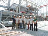 Almacén de la estructura de bastidor de acero prefabricados