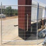 オーストラリアの銀は電流を通された一時塀のパネルを塗った