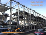 3 4 pilha do estacionamento do carro de borne do armazenamento quatro do veículo do nível
