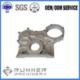 Eisen-Krümmer-Halter-komplizierte Gussteile für Aufbau-Maschinerie-Abgasanlage
