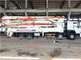 camion della pompa per calcestruzzo di 52m Sinotruk HOWO 8X4 371HP