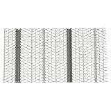 乾式壁の型枠によって電流を通される拡大された金属の肋骨の木ずり