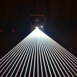 Чисто выставка лазерного луча неба влияния диода