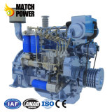 Dieselmotor van de Boot van de Motor van Weichai van de Prijs van de fabriek 95HP de Mariene Wp4 70kw
