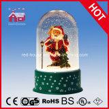 De sneeuwende Ambachten van Kerstmis met Transparant Geval