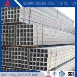 La construcción de invernaderos tubos cuadrados de acero galvanizado Pre