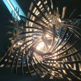 De unieke Ontwerp Verdraaide Lamp van de Tegenhanger van het Ijzer van de Kunst Scherpe