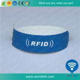 Papel de PVC RFID 915 MHz de Alien H3 desechable Muñequera