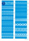 Merletto non elastico per vestiti/indumento/pattini/sacchetto/caso F231-1 (larghezza: 1.4CMM a 24cm)