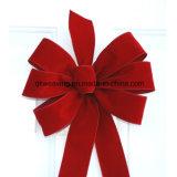 Ruban de velours rouge Bow pour l'Emballage de cadeau