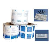 La impresión de papel metálico de aluminio para la alimentación