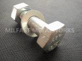 Combinaison filetée des noix A194 gr. 2h de tête Hex de Rods A193 gr. B7/
