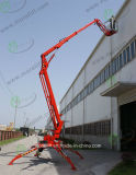 Certificado CE Pull-Behind hidráulico Tráiler la mesa de elevación