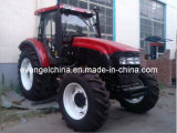 4WD Lutong Popular 60-70HP 4*4 Tractor con cabina
