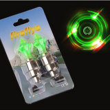 Lumière matérielle de couvercle de valve de vélo de diamant de qualité d'alliage