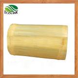 Cesta de bambu natural artesanal / vaso de flor de bambu