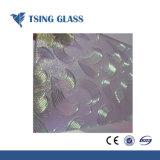 gevormde Glas van Karatachi van de Diamant Nashiji van 3mm het Duidelijke Flora