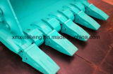 Denti della benna degli escavatori di KOMATSU Doosan Daewoo Kobelco Hyundai Volvo del trattore a cingoli