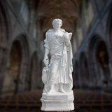 Scultura religiosa di marmo della statua