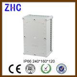 Распределительная коробка ABS IP66 напольной крышки ясности коробки электрического кабеля 240*160*120 пластичная водоустойчивая