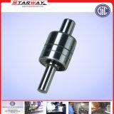 Eixo de engrenagem de aço personalizado com giro do CNC