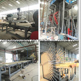 Cadena de producción automática completa de la tarjeta de partícula del MDF/OSB/de la madera contrachapada máquina caliente de la prensa de la chapa del laminado del ciclo del cortocircuito