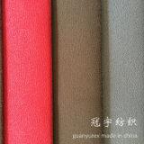 Tissu court de sofa de suède de polyester de pile avec le support