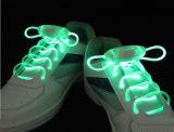 Acendimento do LED piscando Shoelace Equipamento rendas