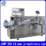 La máquina de llenado farmacéutico 2 ampolla de plástico de la cabeza de la máquina de sellado de llenado de líquido oral
