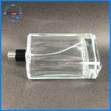 Bottiglia di profumo di vetro quadrata personalizzata commercio all'ingrosso
