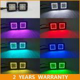 для стручков RGB дистанционного управления света работы стручка виллиса СИД Offroad с венчиком