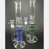De blauwe en Groene Rokende Pijp van het Glas voor de Pijp van het Glas van de Filter
