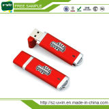 Disco plástico do USB da movimentação 2.0 da memória Flash do USB do logotipo livre
