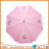 로고에 의하여 인쇄되는 예쁜 주름 장식 일요일 우산을 인쇄하는 디지털