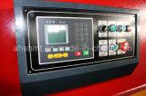 QC11y-6*3200mm 유압 단두대 깎는 기계 또는 유압 격판덮개 깎는 기계는 또는 조정가능한 절단각을%s 가진 깎는 기계를 보았다