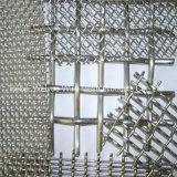 Декоративные из нержавеющей стали с плоским Обжатый провод сетка