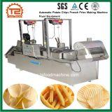 De automatische Frieten die van Chips de Apparatuur van de Braadpan van de Machine maken
