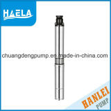 Pompa ad acqua sommergibile ad alta pressione del pozzo profondo della pompa 0.75kw 1HP