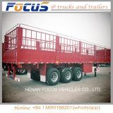 Estaca del transporte de ganado/de la cerca acoplado utilitarios superventas del carro semi