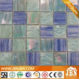 Nuevos modelos de cuarto de baño mosaico de vidrio de la fantasía de Oro (H448002)