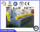 Машина гильотины QC11Y-6X3200 Hydraulc режа, автомат для резки стальной плиты