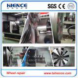 台湾水平CNCの車輪の旋盤機械Awr2840からのSyntecシステム