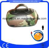 5L de camuflaje pequeñas bolsas de agua inflables bolsas bolsas de ejercicios de peso