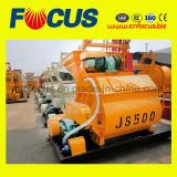 Stationärer Betonmischer des leichte Doppelwelle-Betonmischer-Js500