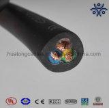 Cer verzeichnete 3 Kabel des Kern-2.5mm2 4.0mm2 6.0mm2 H05rn-F H07rn-F