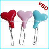 Divisor colorido para los pares, divisor de la música, accesorios del auricular de la forma del corazón del auricular
