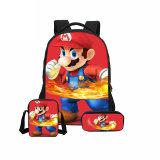 Sac d'école super sac à dos d'impression d'enfants combinaison Bookbag Fashion Boy sac à dos de l'école