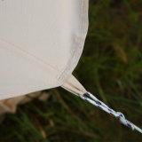 Große weiße beige Farben-wasserdichtes Segeltuch-Rundzelt für Verkauf